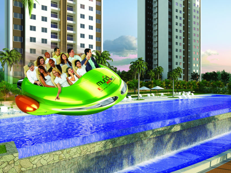 Mundi Resort Residencial - Inovação no estande para encantamento dos clientes