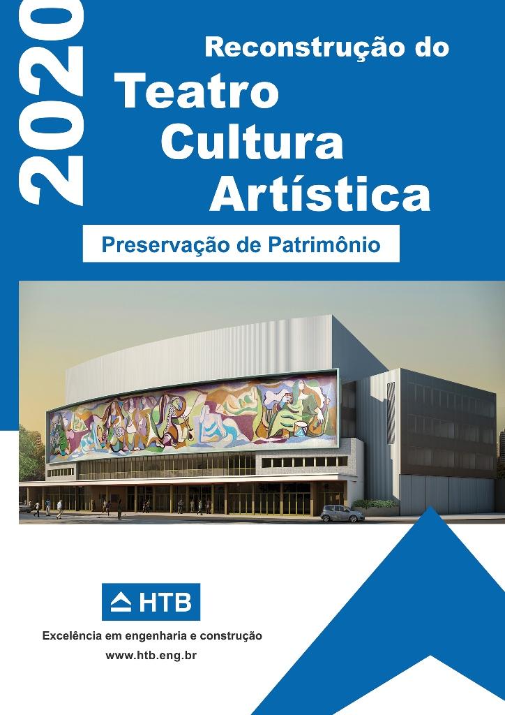 Reconstrução do Teatro Cultura Artística