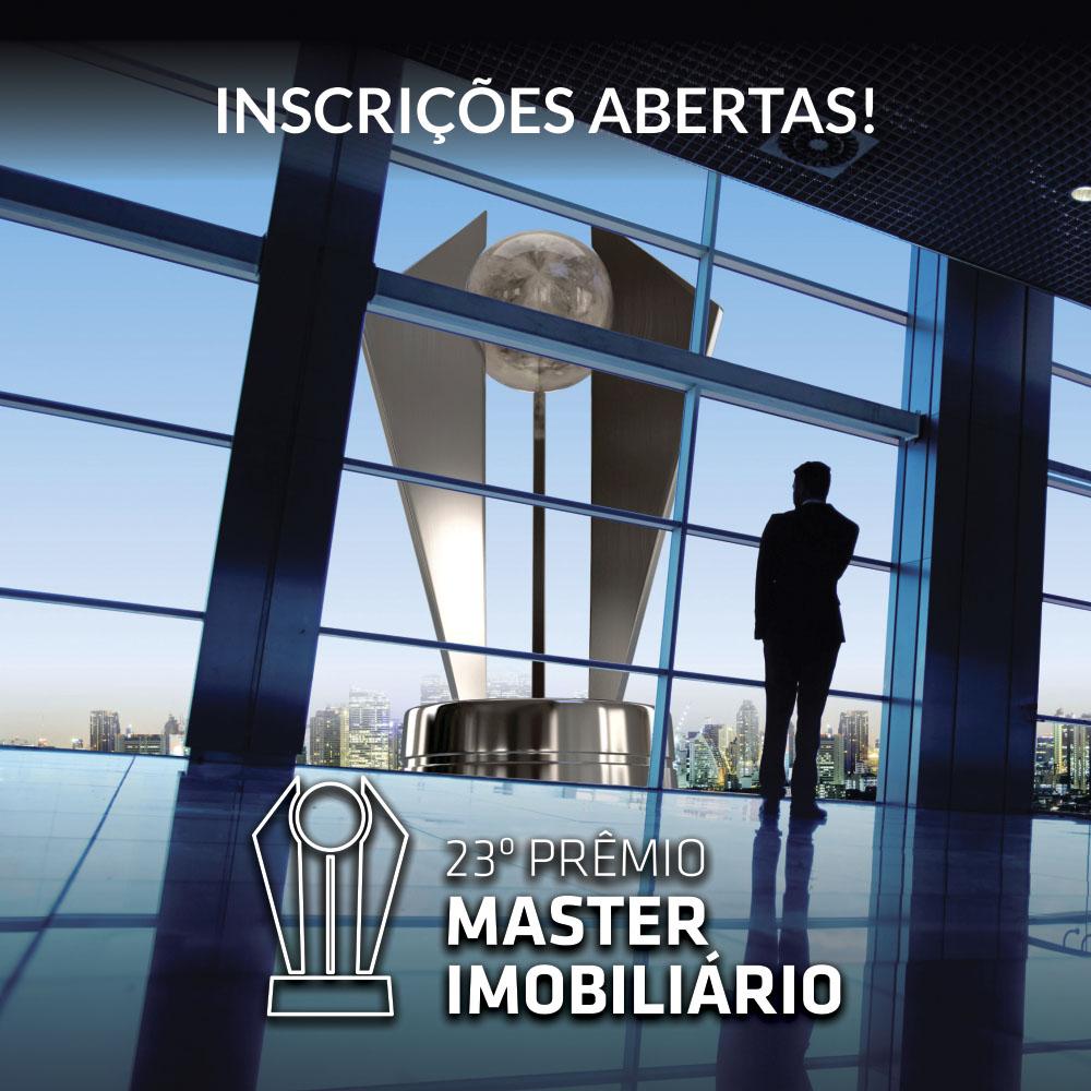 Conheça as categorias e saiba mais informações de como participar da 23ª edição do Master Imobiliário
