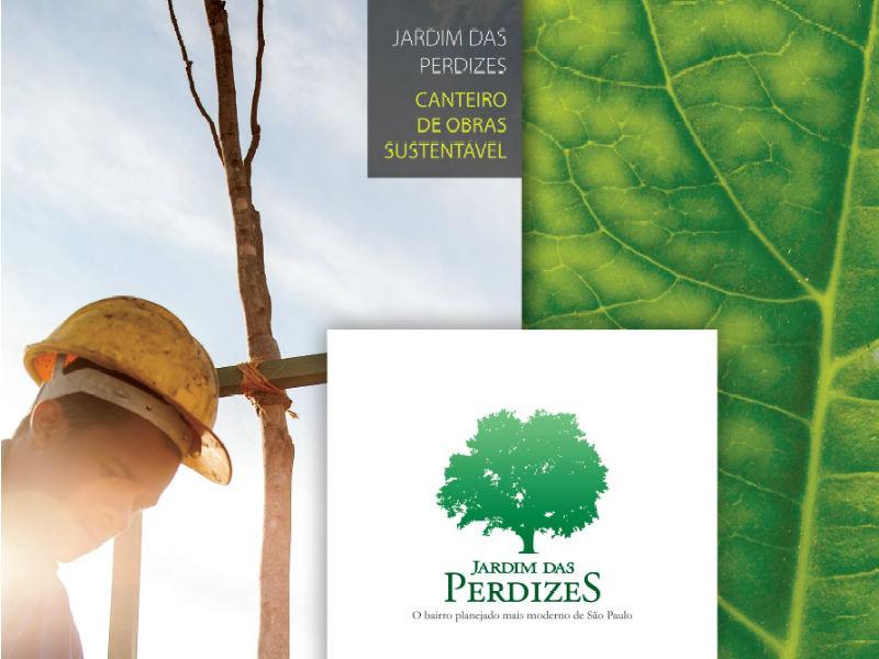 Jardim das Perdizes: Canteiro de obras sustentável